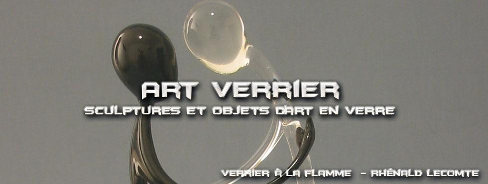 Art Verrier - Cadeaux couple mixte - Couple amoureux - Rhénald Lecomte - Artiste verrier au chalumeau - La Gacilly