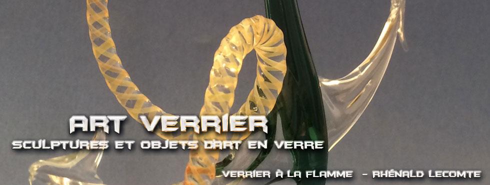 Art Verrier - Décoration d'art nautique et ancres marines décoratives en verre - Rhénald Lecomte - La Gacilly