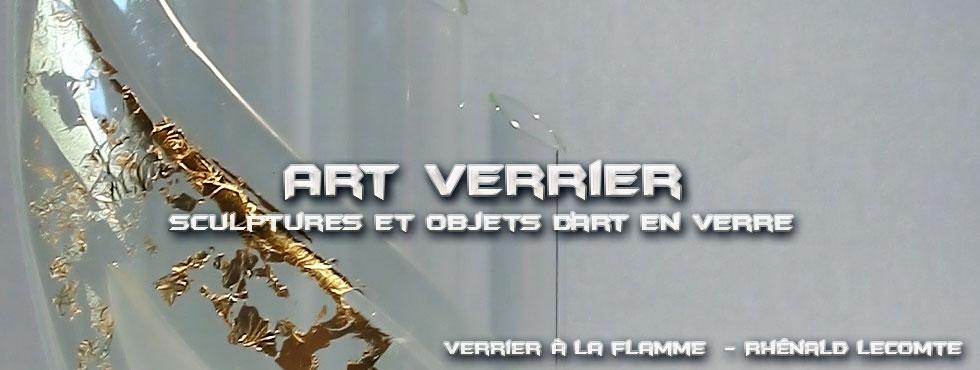 Art Verrier - Soliflores design et vases tubulaires contemporains - Rhénald Lecomte - Artiste verrier au chalumeau - La Gacilly