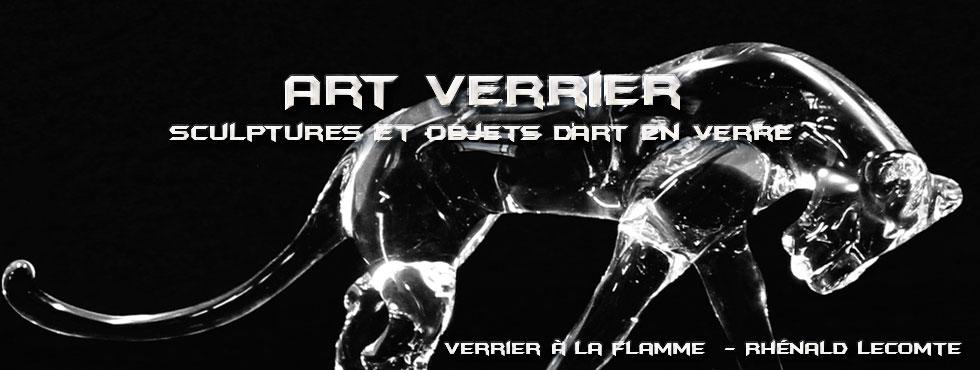 Sculptures animalières - Félins en verre sculptés à la flamme - Rhénald Lecomte - Artiste verrier au chalumeau - La Gacilly
