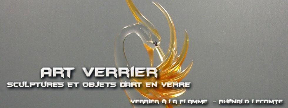 Sculptures animalières - Oiseaux de paradis sculptés en verre - Rhénald Lecomte - Artiste verrier au chalumeau - La Gacilly