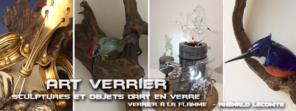 Art collaboratif et pièces uniques -  Décoration intérieure et objets d'art sculptés en verre - Art Verrier - Atelier 1110 - La Gacilly